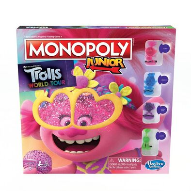 Trolls World Tour Monopoly Junior