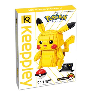 Qman Keeppley Pokémon Large Pikachu