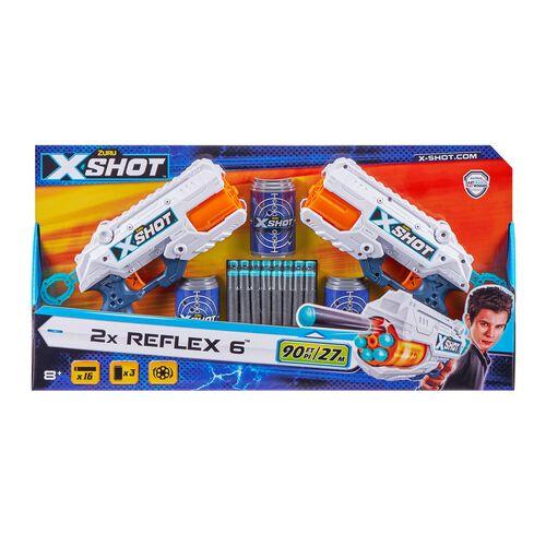 X-Shot Reflex 6 Double Pack (16 Darts)