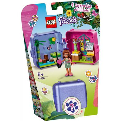 LEGO Friends Olivia's Jungle Play Cube 41436