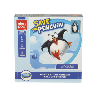 Play Pop Save The Penguin Action Game