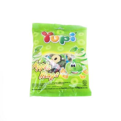 Yupi Apple Rings 120G