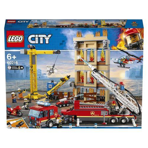 LEGO City Downtown Fire Brigade 60216
