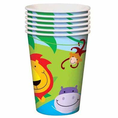 """Parties""""R""""Us Dinosaur 9 Oz Cups"""