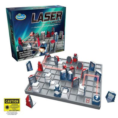 Thinkfun Laser Chess The Beam Directing Strategy Game