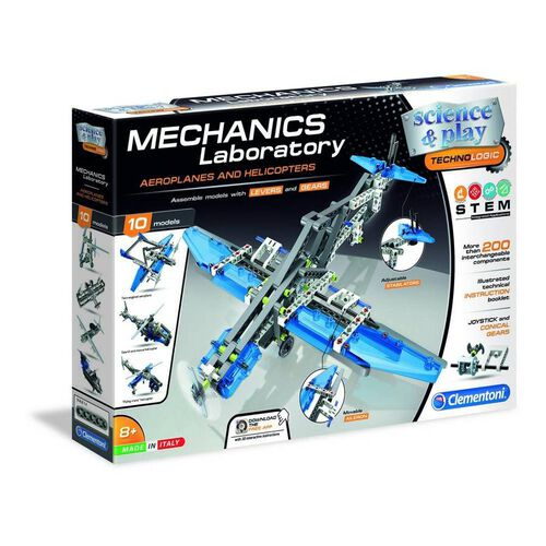 Clementoni Mech Lab Planes and Helicopters