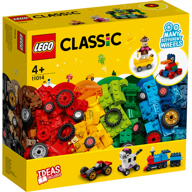 LEGO Classic Bricks And Wheels 11014
