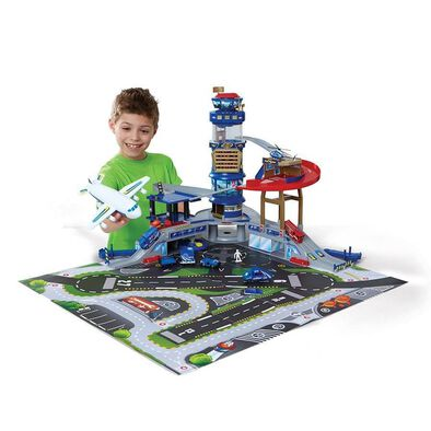 Fast Lane Multi Level Airport Playset