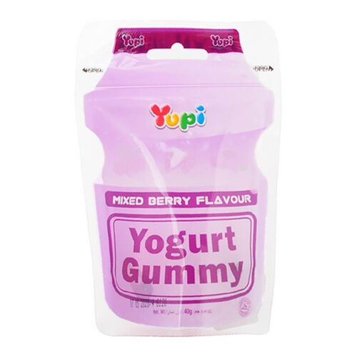 Yupi Yogurt Gummy Mixed Berry 40G