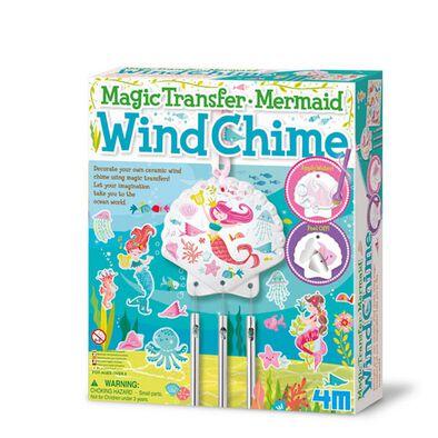 4M Magic Transfer Mermaid Wind Chime