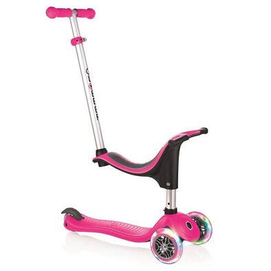 Globber Evo 4 In 1 Lights Pink Scooter