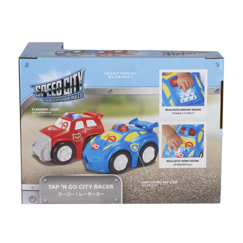 Speed City Junior Tap 'N Go City Racer Blue