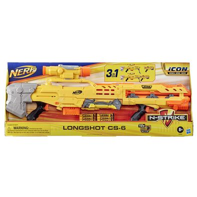 NERF N-Strike Icon Series Longshot CS-6