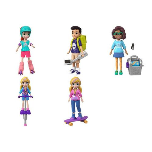 Polly Pocket Go Tiny Active Doll - Assorted