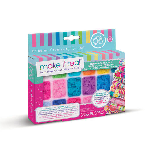 Make it real Heishi Beads W/ Storage Case