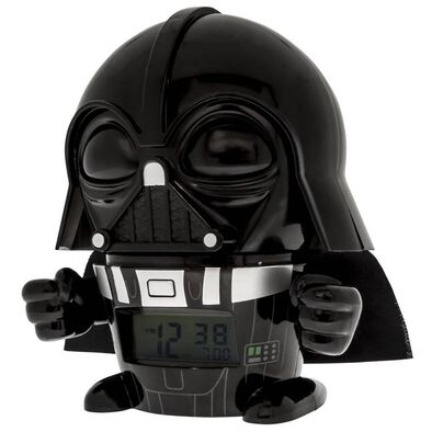 Bulbbotz Star Wars 5 Inch Night Light Alarm Clock Darth Vader