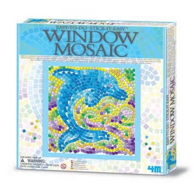 4M Easy To Do Window Mosaic Art Nature