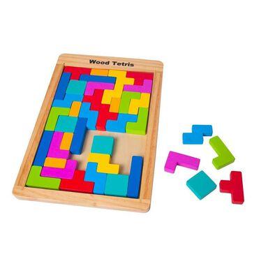 Universe of Imagination Wood Tetris