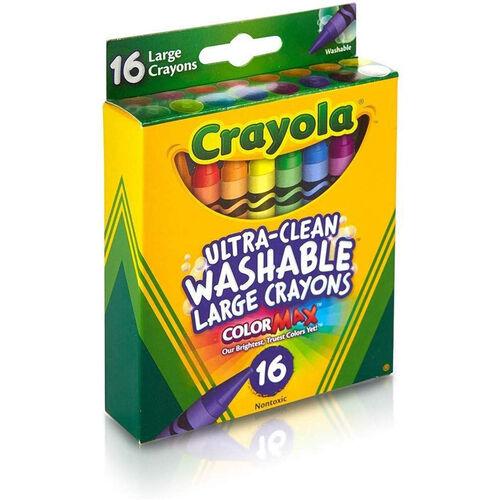 Crayola 16 Ct Large Washable Crayons