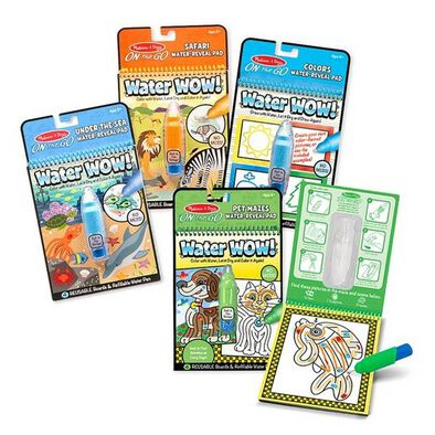 Melissa & Doug On The Go Range Water Wow 2 - Assorted