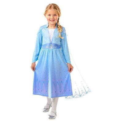 Rubies Disney Frozen 2 Elsa Travel Dress L