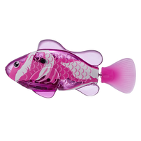 Zuru Robo Fish Series 1 Lightning Maroon