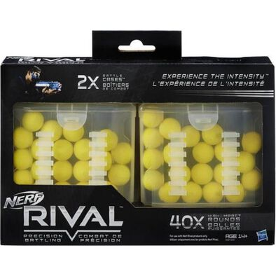 NERF Rival 40 Round Battle Cases