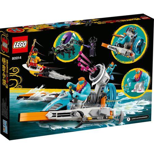 LEGO Monkie Kid Sandy's Speedboat 80014