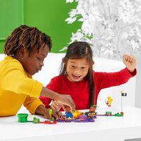 LEGO Super Mario Wiggler's Poison Swamp Expansion Set 71383