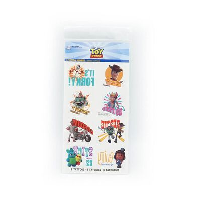 Toy Story Tattoo Favors