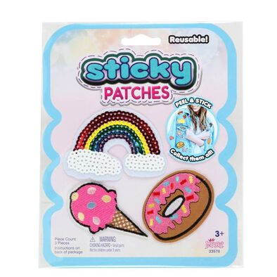 Sticky Patches Rainbow 118