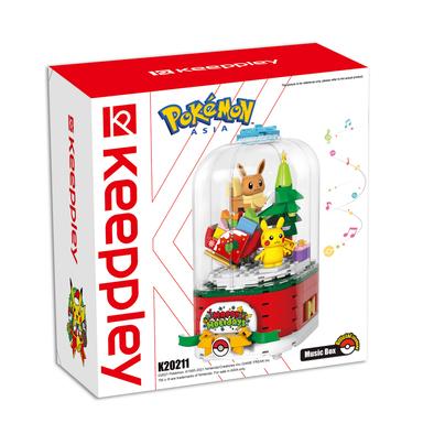 Qman Keeppley Pokémon Music Box