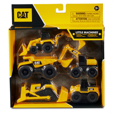 Cat 3 Inch Little Machines 5 Pack