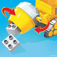 Mega Bloks Paw Patrol Rubble's City Construction Truck