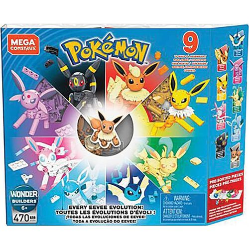 Mega Construx Pokemon Every Eevee Evolution!