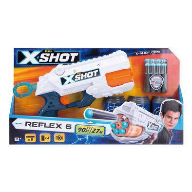 X-Shot Reflex Revolver TK-6 - Assorted