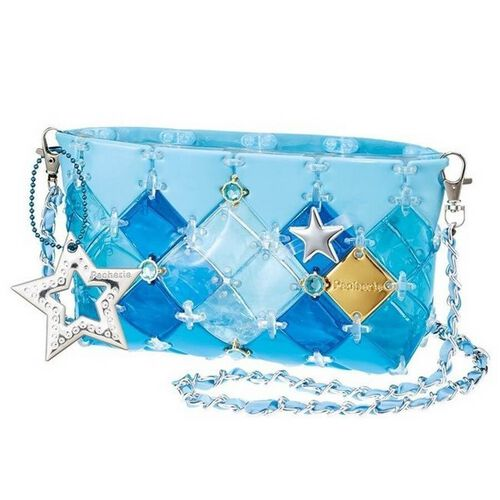Beverly Pacherie Clear Pen Pouch Blue