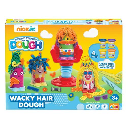 Nick Jr Ready Steady Dough Wacky Hair Dough