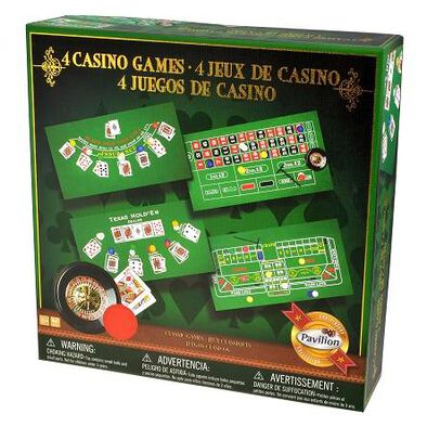 Pavilion 4-In-1 Casino Games