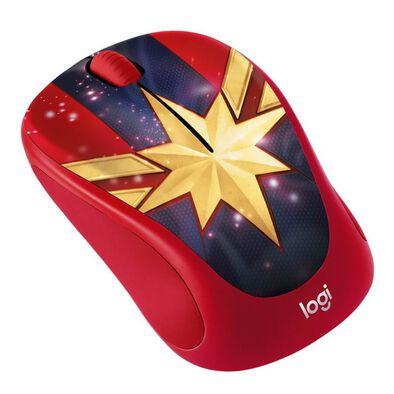 Logitech M238 Marvel Collection Captain Marvel Wireless Mouse