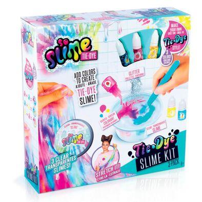 So Slime Tie Dye Slime Kit 3 Pack