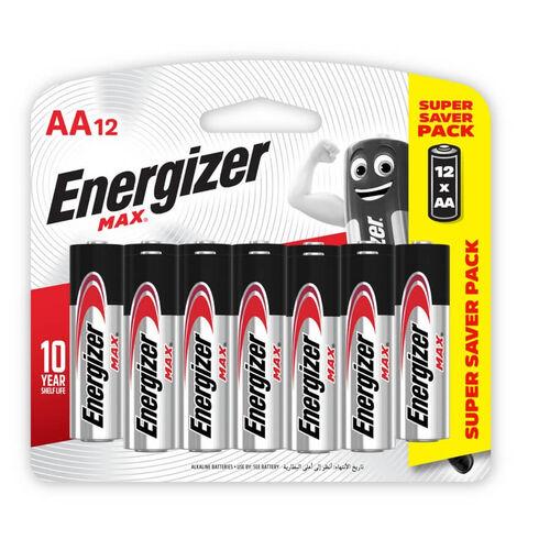 Energizer 12Pack AA Alkaline Batteries