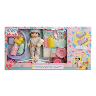 Baby Blush Sweetheart's Ultimate All-In-1 Doll Playset