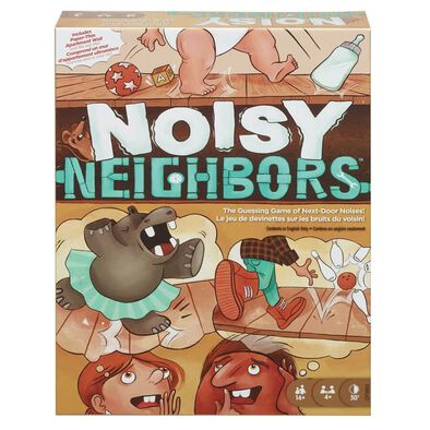 Noisy Neighbours Game