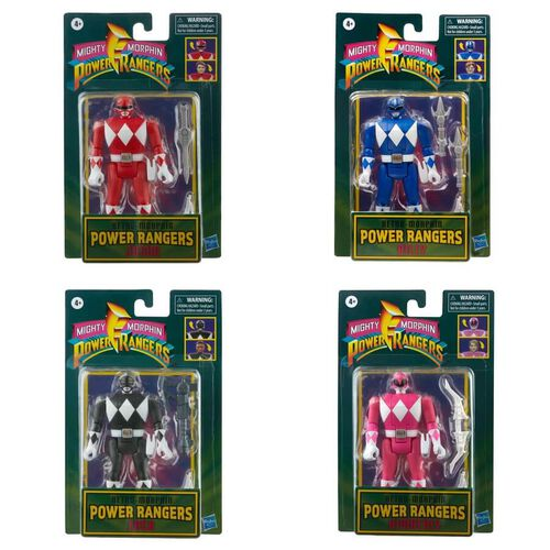 Power Rangers Retro-Morphin Figure - Assorted