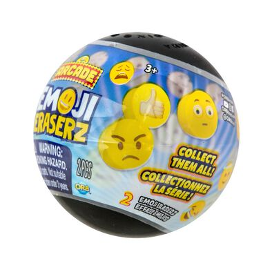 Orb Arcade Capsules Emoji Eraserz