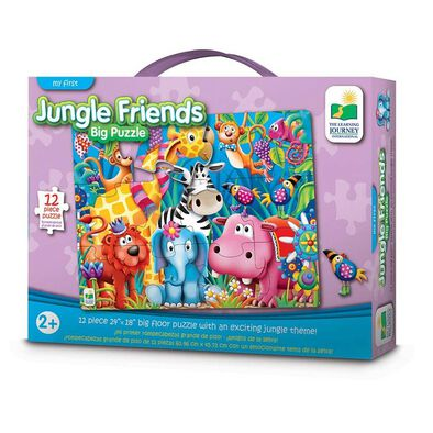 The Learning Journey My First Big Floor Puzzle Jungle Friend