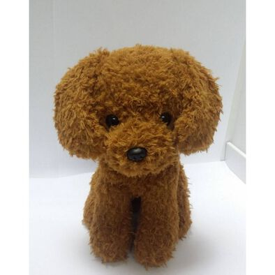 Animal Alley 9 Inch Poodle (Brown)