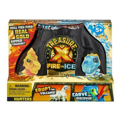 Treasure X Fire vs. Ice Hunters