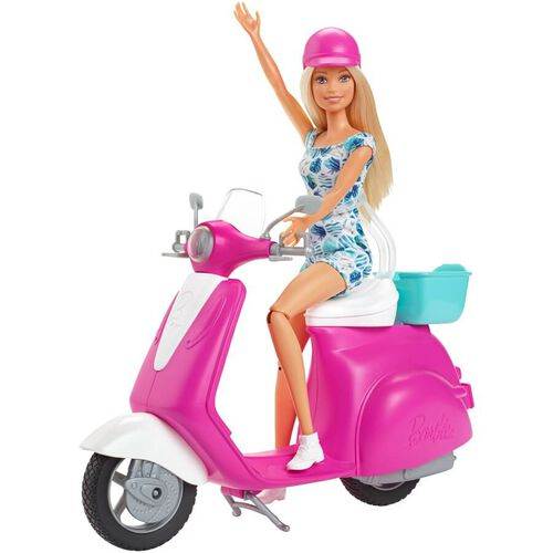 Barbie With Scooter
